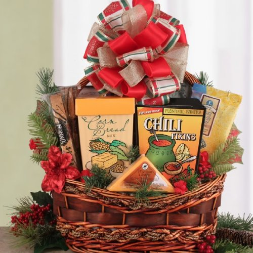 For the Chef in You Holiday Theme Down Home Favorites Cooking Gift Basket | Christmas Gift Idea