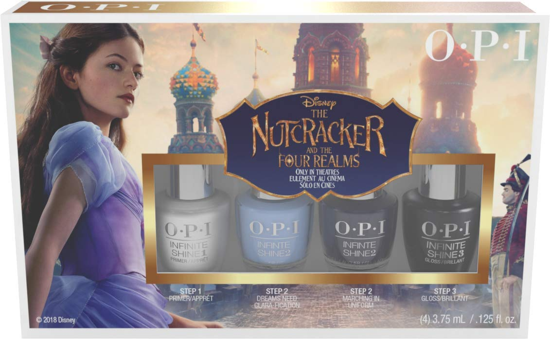 OPI The Nutcracker And The Four Realms Set De Esmalte De Uñas - 4 Unidades x 3.75 ml.: Amazon.es