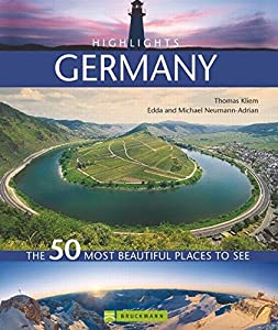 Hardcover Highlights Germany: The 50 most beautiful places to see [German] Book