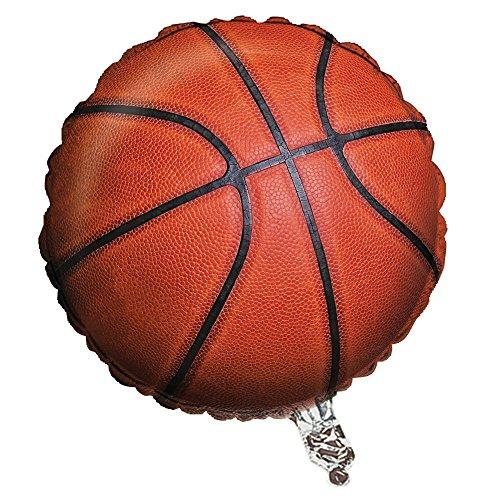 Creative Converting Fanatic Basketball Metallic