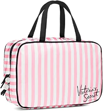 Victoria s Secret bolsa victorias secret para colgar estuche de viaje bolsa de cosméticos: Amazon.es: Belleza