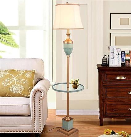 XXFFH® Lámpara de pie Simplicidad moderna para la sala de ...