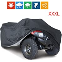 VVHOOY ATV Cover Waterproof Heavy Duty Outdoor Protection 210D All Weather 4 Wheeler Quad Covers Protect ATV From Sun…