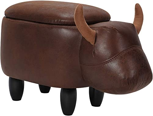 Cocoarm Multi-Functional Animal Shape Ottoman Foot Rest Stool
