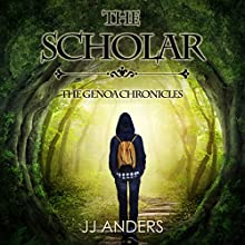 The Scholar: The Genoa Chronicles, Book 1 Audiobook by JJ Anders Narrated by Marnye Young