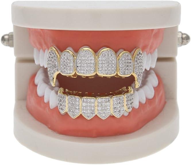 Amazon.com: HongBoom Hip Hop - Juego de parrilla dental ...