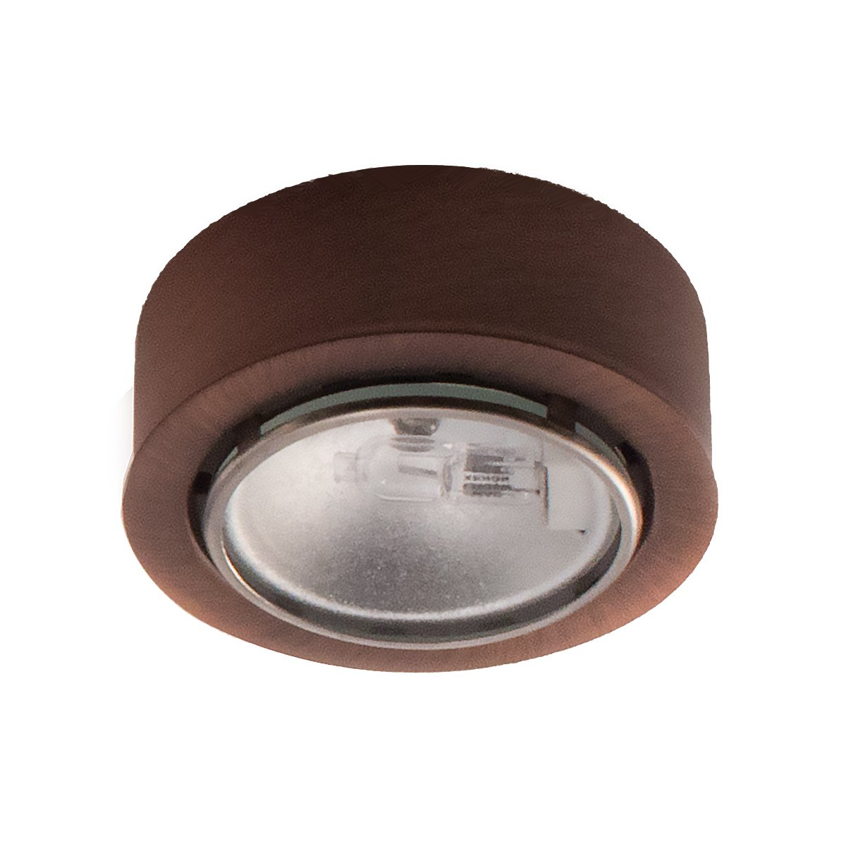 WAC Lighting HR-86-CB Low Voltage Round Xenon Button, 12V 20W