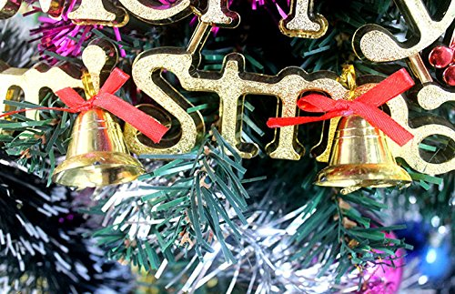Christmas Bells Decoration Ornaments Set of 9 by Yuletide (Image #2)