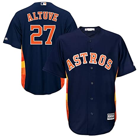 324092537 Outerstuff Jose Altuve Houston Astros MLB Majestic Toddler Navy Alternate Cool  Base Player Jersey (Toddler