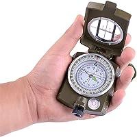 LXB Multifunktionaler Visierkompass mit Tragetasche, wasserdicht und rüttelsicher.