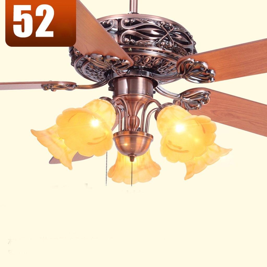 De estilo europeo, las luces del ventilador luz ventilador ...
