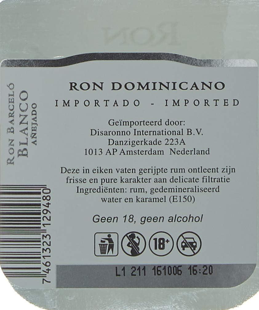 Ron Barcelo Dominican Republic White Rum: Amazon.es ...