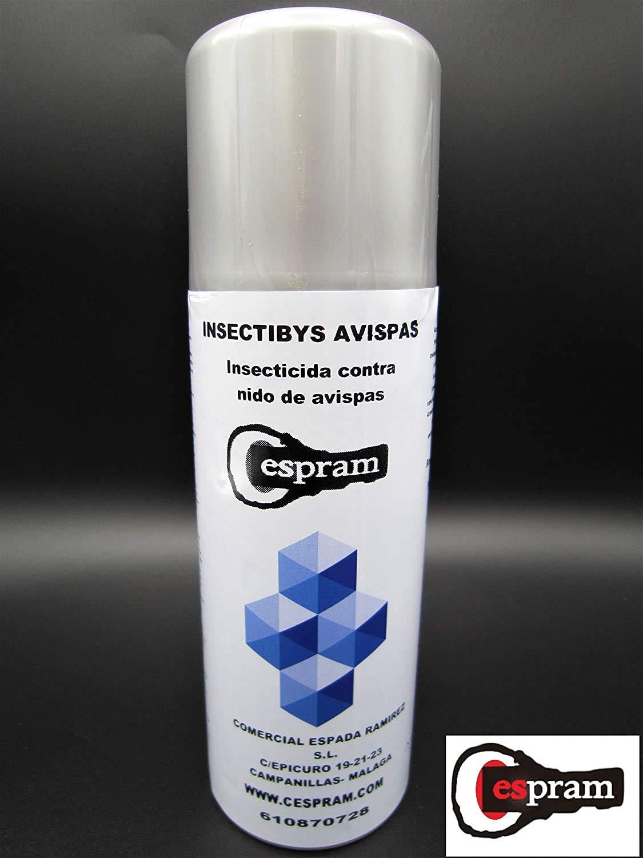 CESPRAM- Insecticida avispas .Eficaz frente a la avispa asiática, avispa común,avispón,abejorros y sus nidos. Insectibys 520 ml.: Amazon.es: Industria, empresas y ciencia