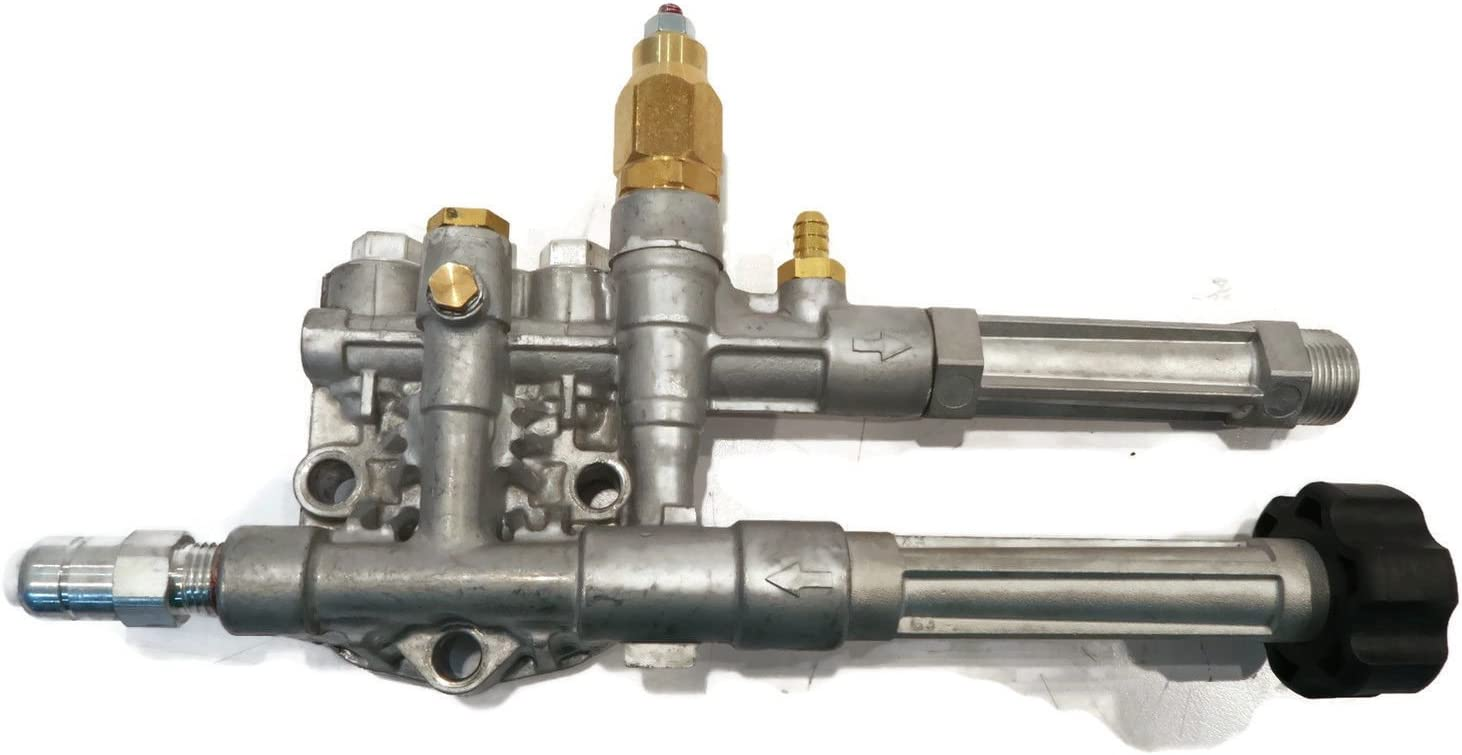 Complete Washer Pump Head with Unloader for many Briggs /& Stratton SRMW2.3G28