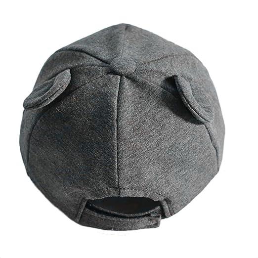 a5327756ddf Baby Baseball Cap Flat-brimmed Sun Hat Black  Amazon.ca  Clothing    Accessories