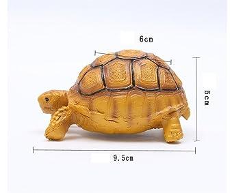 SDCXV Hermoso Animal del Ornamento de la Tortuga de la simulación del Pecera para la decoración del Pecera: Amazon.es: Productos para mascotas