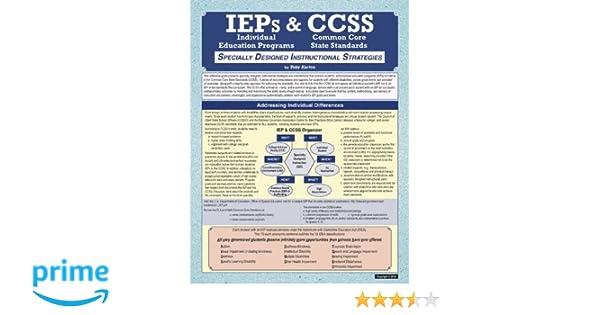 Ieps Ccss Specially Designed Instructional Strategies Toby Karten