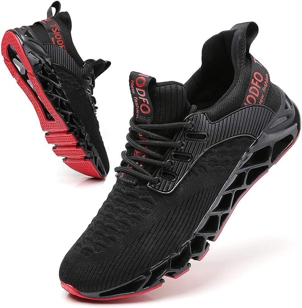 SKDOIUL Men Sport Running Shoes Mesh