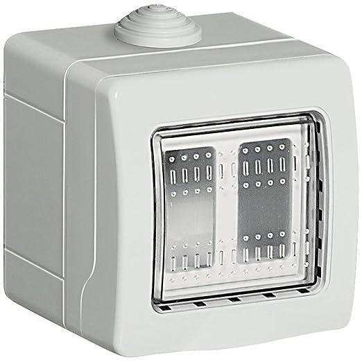 2 opinioni per BTicino S25502E Custodia Idrobox per Esterno, Bianco