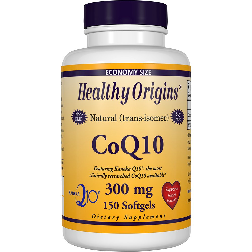 Healthy Origins Kaneka COQ10 Gels, 300 Mg, 150 Count