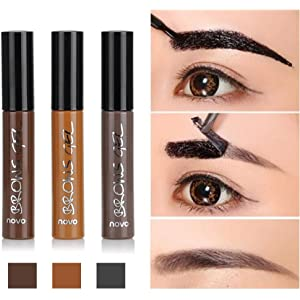 88aaa0daadd Huayang| Long Lasting Tattoo Eyebrow Gel Pack 6g, Women Peel Off Waterproof Eyebrow  Tint