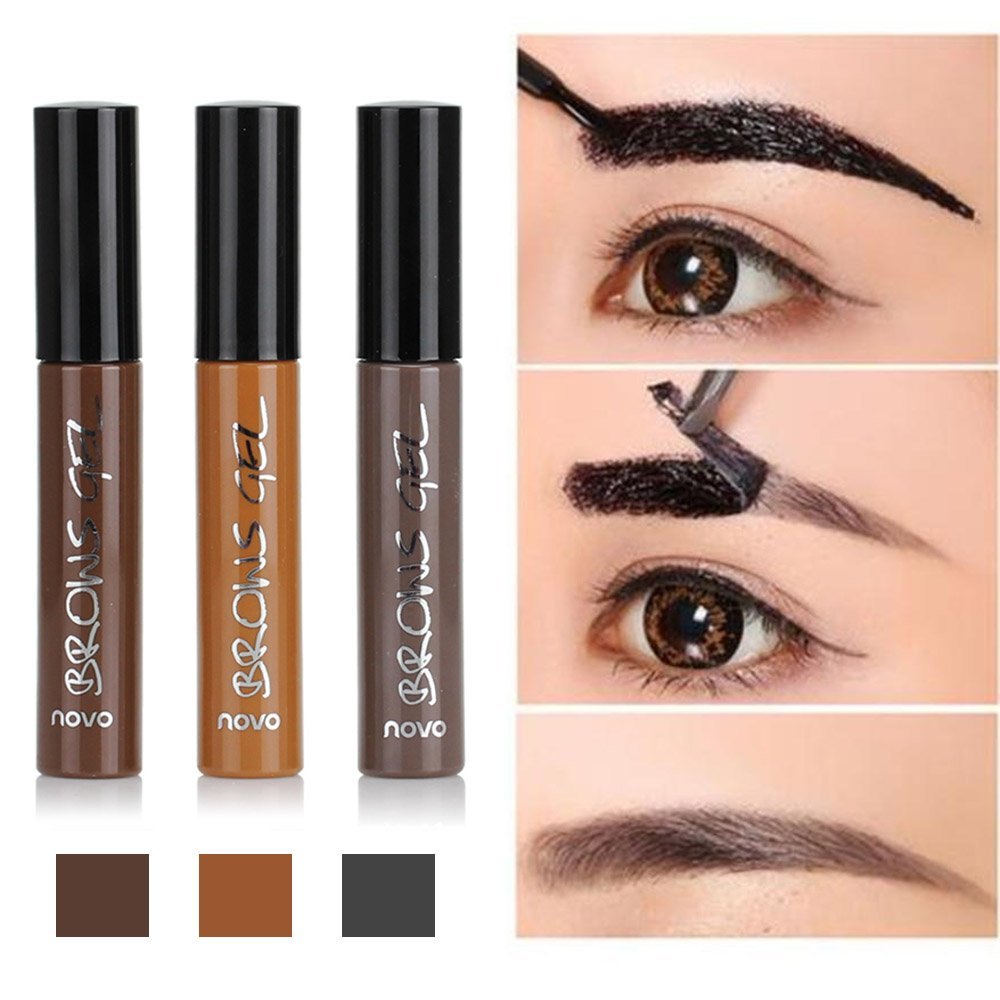 Amazon Huayang Long Lasting Tattoo Eyebrow Gel Pack 6g Women