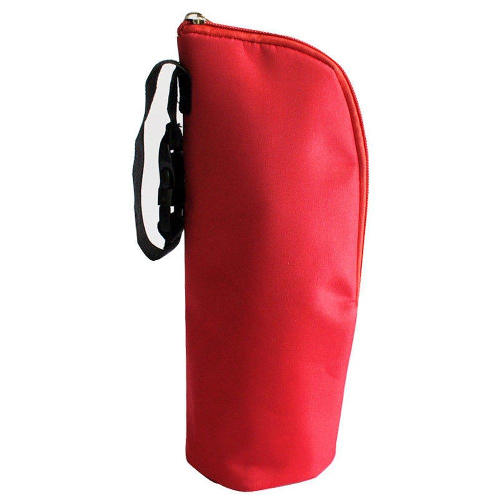 Baby Bottle Tote Bags Nursing Bottle Cooler Warmer Insulated Bag for Travel Stroller 3.1x3.1x9.5inch (Blue) KS