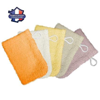 Modulit - Lot de 5 petits gants de toilette d apprentissage pour bébé enfant f6ef09ed2fa
