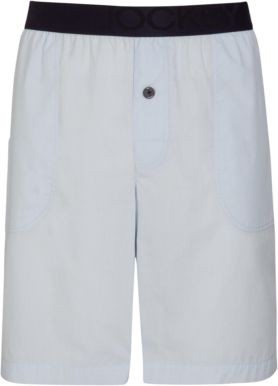 Jockey Kurze Pyjama Hose in hellblau f/ür Herren Gr/ö/ßen S 6XL
