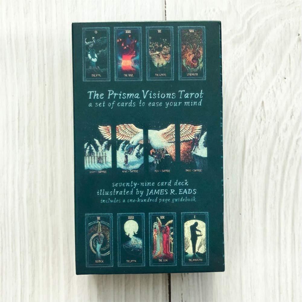 Hootiny TarotCards Prism Vision Tarot Classic Divination Card Adult Game Fun Bar Party Family Card Game
