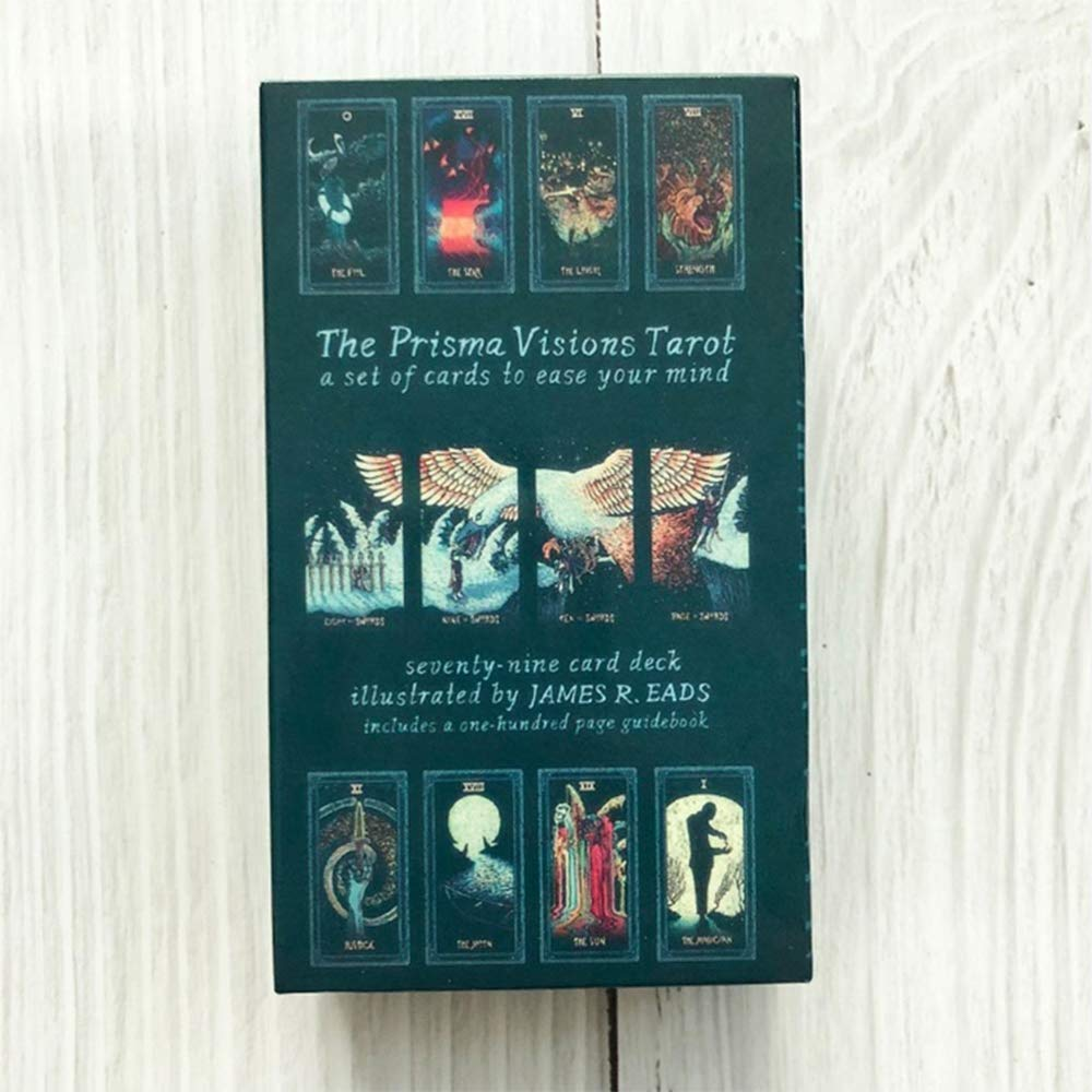 Hootiny TarotCards Prism Vision Tarot Classic Divination Card Adult Game, Fun Bar Party Family Card Game by Hootiny (Image #2)