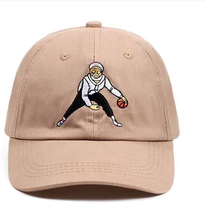 Knncch 100% Algodón Sombrero Unisex Moda Baloncesto ...