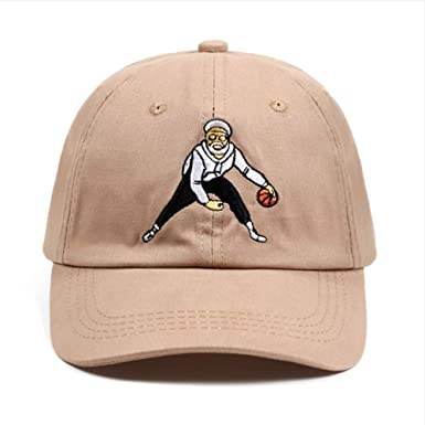 Knncch 100% Algodón Sombrero Unisex Moda Baloncesto Comedia ...