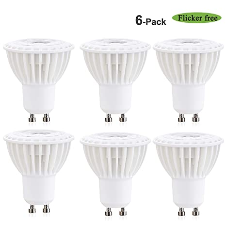 38° Beam Angle 3W GU10 LED Bulbs Daylight 5000K 30W Equivalent CRI85+ LED MR16 GU10