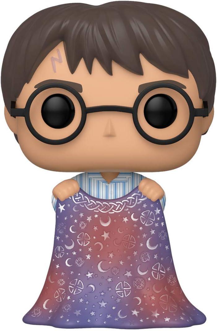 Funko Pop! Harry Potter: Harry Potter - Harry w/Invisibility Cloak, Multicolor, Estándar