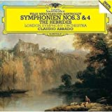 メンデルスゾーン:交響曲第3番「スコットランド」&第4番「イタリア」、序曲「フィンガルの洞窟」