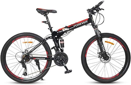 Dapang Suspensión Total Plegable Bicicleta de montaña, Trail ...