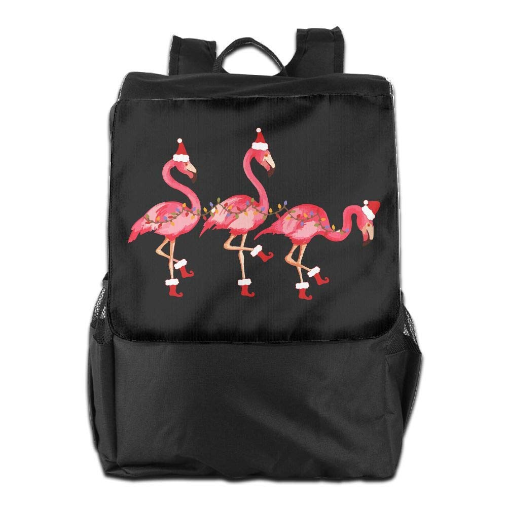 hgfdhfgjrfj So Cute Flamingo Christmas Women Men Laptop Travel Backpack College School Bookbag UAF1UH1C9IU4N4IXEP91