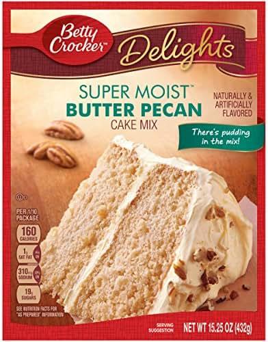 Betty Crocker Super Moist Delights Butter Pecan Cake Mix