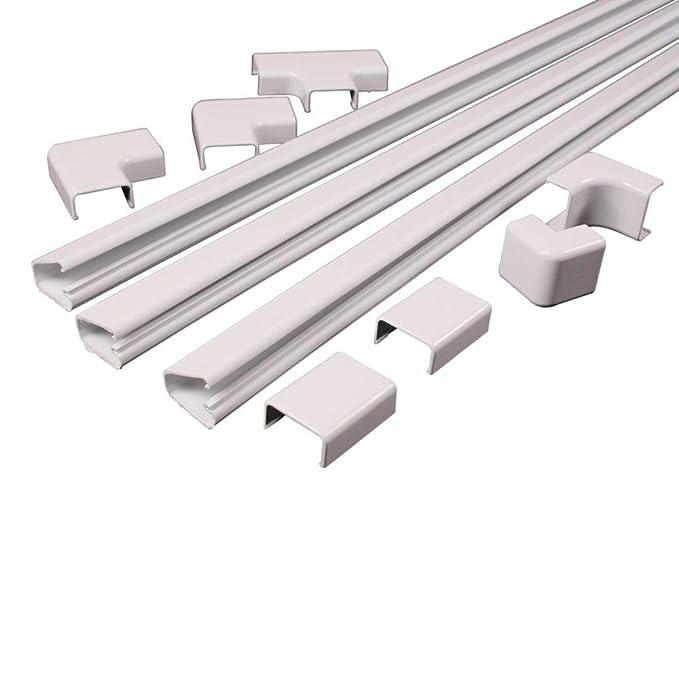 Legrand C210 Color Blanco - Protector de Cable (Color Blanco, 3,66 m): Amazon.es: Bricolaje y herramientas