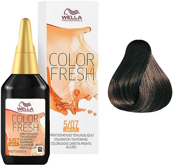 Wella Color Fresh 5/07 Castano Claro Natural Marron 75 ml