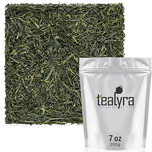 Tealyra - Premium Gyokuro Kokyu - Japanese Green Tea - Finese Loose Leaf Tea - Organically Grown in Japan - 200g (7-ounce)