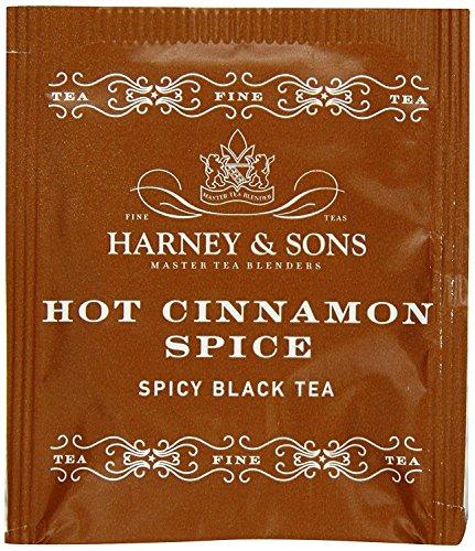 Harney & Sons Fine Teas Hot Cinnamon Spice - 50 Tea bags
