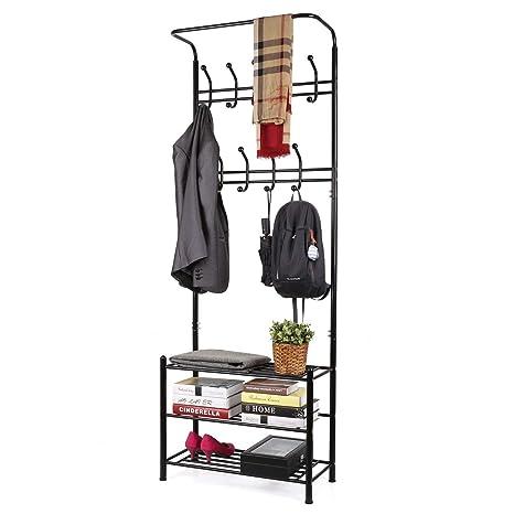 Amazon.com: Homfa Fashion Heavy Duty Garment rack con ...