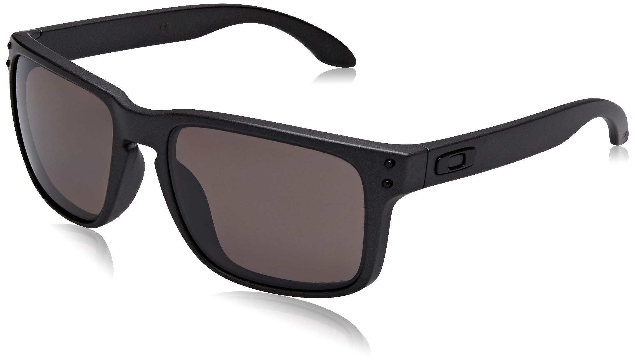Oakley Mens Holbrook Covert Sunglasses One Size Matte Black/Prizm Daily Polarized