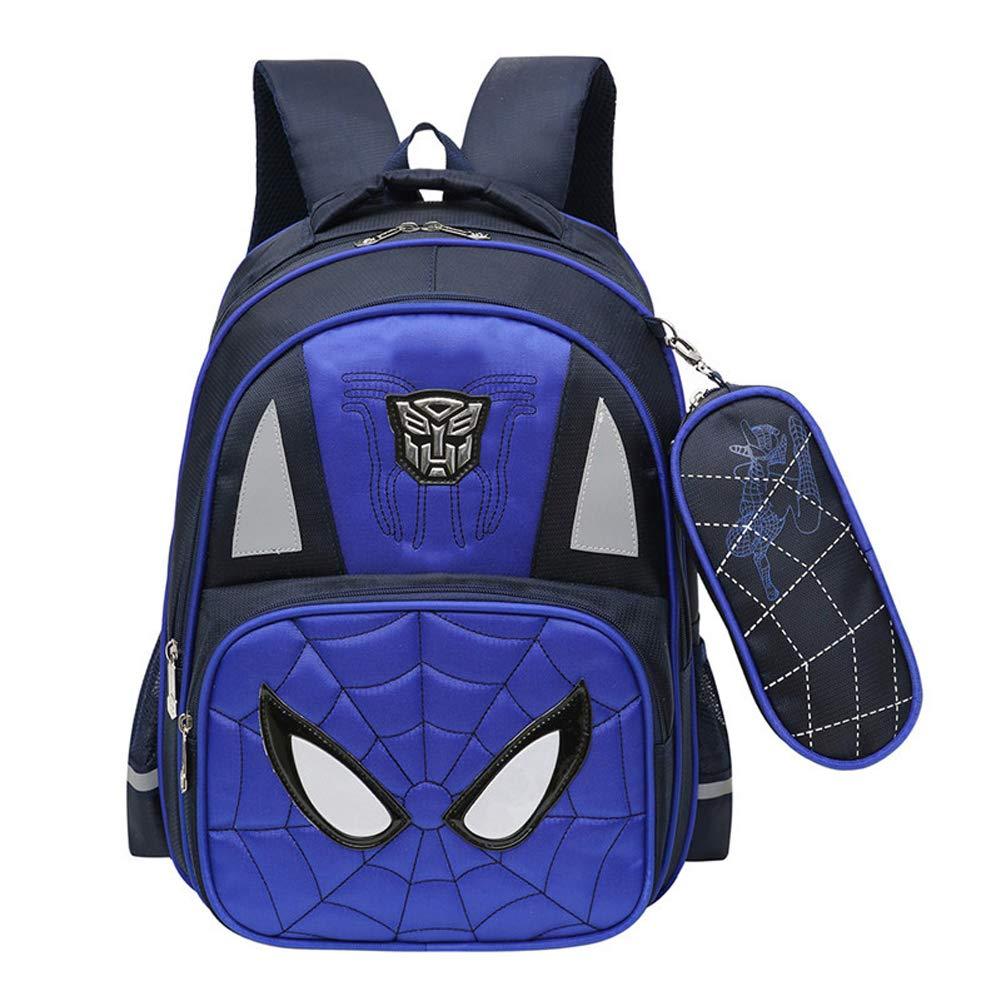 Schultasche für Kinder, 3-6-jährige Schüler und Schüler rotuzieren die Belastung der wasserdichten Ridge-Schultertasche Blau