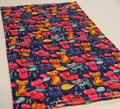 Picture CATNIP PAD/MAT HAND CRAFTED IN THE USA BY CATHOUZE CRAFTSONE FREE CATNIP TOY WITH PURCHASE (OH LA LA)