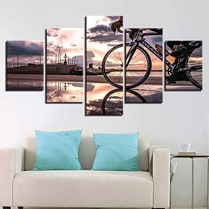 YIWAN Moderne Jet d\'encre Affiche Maison modèle Chambre ...
