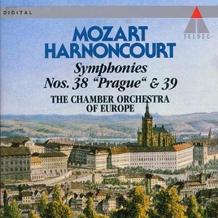 "Symphonies 38 ""Prague"" & 39"