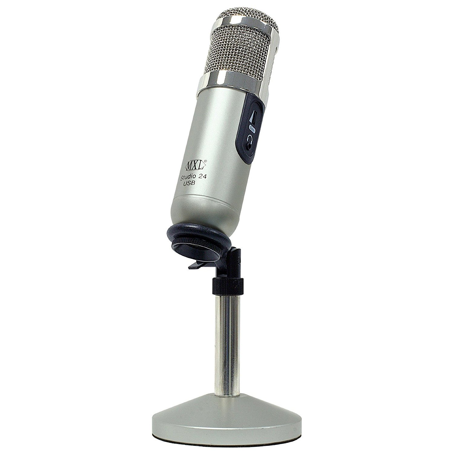 Amazon.com: MXL Studio 24 USB Microphone: Musical Instruments
